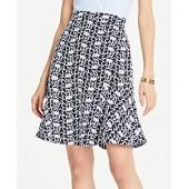 Lace Peplum Skirt