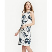 Leaves Tank Dress