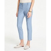 The Cotton Crop Pant in Chambray
