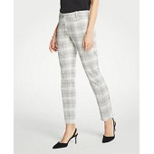 The Cotton Crop Pant In Variegated Plaid
