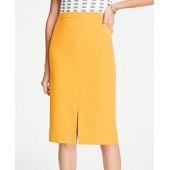 Doubleweave Pencil Skirt