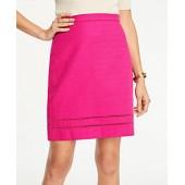 Cutout A-Line Skirt