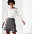 Tweed Flippy Skirt