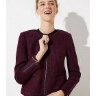 Tweed Zip Jacket