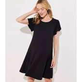 Maternity Tulip Sleeve Swing Dress