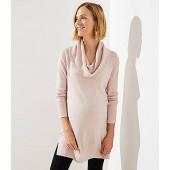 Maternity Cowl Neck Tunic Sweater
