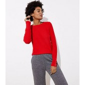 Textured Button Cuff Sweater