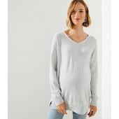Maternity V-Neck Sweater