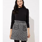 Tweed Pocket Skirt