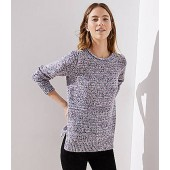 Marled Roll Neck Sweater