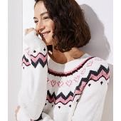 Swingy Fairisle Sweater