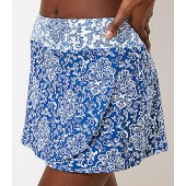 LOFT Beach Paisley Wrap Swim Skirt