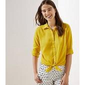 Button Down Tunic Shirt