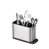 Joseph Joseph Surface Cutlery Drainer in Stainless Steel