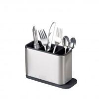 Joseph Joseph Surface Cutlery Drainer in Stainless Steel