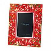 Wedgwood Wonderlust Crimson Jewel 4-Inch x 6-Inch Picture Frame