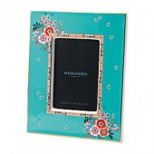 Wedgwood Wonderlust Camellia 4-Inch x 6-Inch Picture Frame