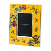 Wedgwood Wonderlust Yellow Tonquin 4-Inch x 6-Inch Picture Frame