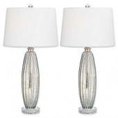 Pacific Coast Lighting Sparrow Table Lamps in Champagne (Set of 2)