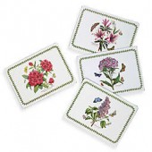 Portmeirion Botanic Garden Hardback Placemats (Set of 4)