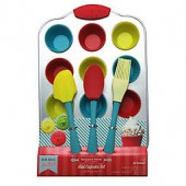 Handstand Kitchen 17-Piece Mini Cupcake Making Set