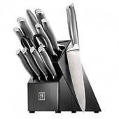 Zwilling J.A. Henckels International Modernist 13-Piece Knife Block Set in Black