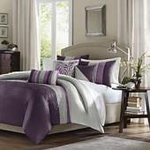 Amherst Duvet Set in Purple