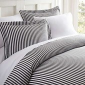 Home Collection Ribbon Duvet Cover Set