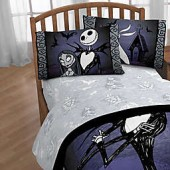 Disney Nightmare Before Christmas Meant To Be Sheet Set