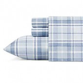 Laura Ashley Mulholland Plaid Flannel Sheet Set