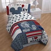 Disney Mickey Mouse Americana Comforter Set