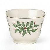 Lenox Holiday Archive Treat Bowl