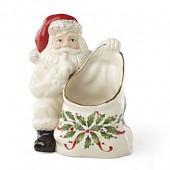 Lenox Hosting the Holidays Santa Candy Dish
