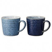 Denby Studio Blue Mugs (Set of 2)