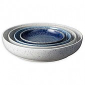 Denby Studio Blue 4-Piece Nesting Bowl Set