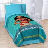 Disney Moana The Wave Twin Blanket in Blue