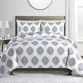 450 Sateen Cotton Printed Duvet Cover Set