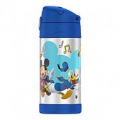 Thermos Funtainer Mickey Mouse 12-Ounce Straw Bottle