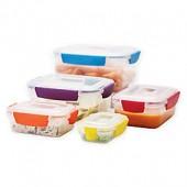 Joseph Joseph Nest Lock 10-Piece Multicolor Food Storage Set