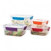 Joseph Joseph Nest Lock 8-Piece Multicolor Food Storage Container Set