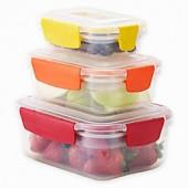 Joseph Joseph Nest Lock 6-Piece Multicolor Food Storage Container Set