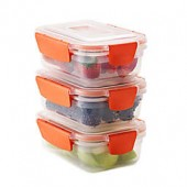 Joseph Joseph Nest Lock 6-Piece 18 oz. Food Storage Set in Orange