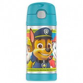 Thermos Paw Patrol 12 oz. Funtainer Bottle with Straw in Teal