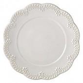 Lenox Chelse Muse Floral Grey Dinner Plate