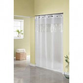 Hookless Frost 71-Inch W x 74-Inch L Shower Curtain