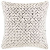 Triangle Rustic Geometric Square Throw Pillow