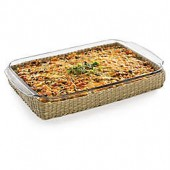 Libbey Glass Bakers Basic 9-Inch x 13-Inch Baking Dish with Basket