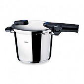 Fissler Vitaquick Pressure Cooker with Perforated Inset and Tripod