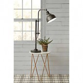 Bee & Willow Home Hudson LED Table Lamp with Bulb in Black