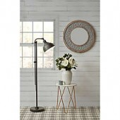 Bee & Willow Home Hudson LED Floor Lamp with Bulb in Black